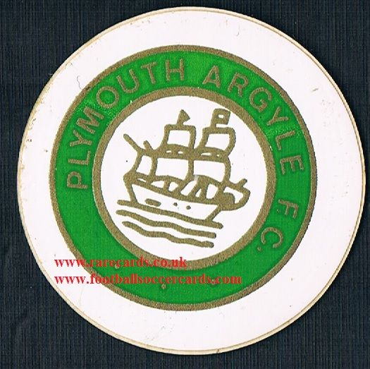 1974 Lucky Bag FasPrint sticker Plymouth Argyle