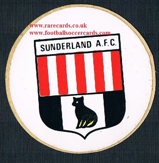 1974 Lucky Bag FasPrint sticker Sunderland
