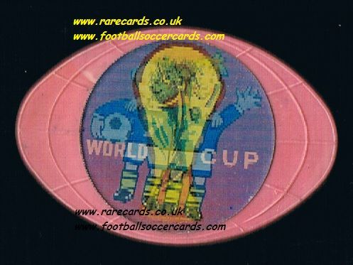 1974 Soviet made Tip und Tap Munich 74 World Cup 1974 mascots West Germany WM74 badge from Russia