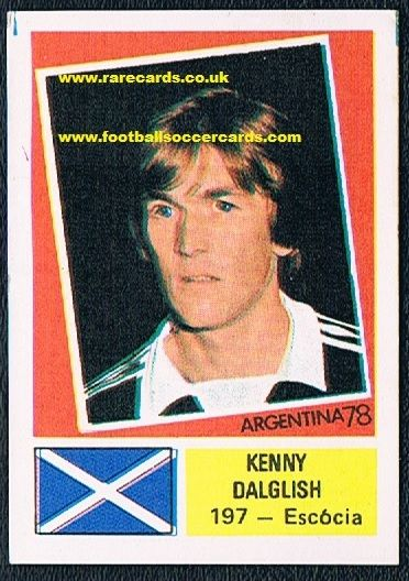 1978 NOT FKS Portuguese Dalglish!