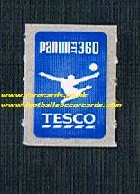 1990s Tesco Panini fit 360 stamp